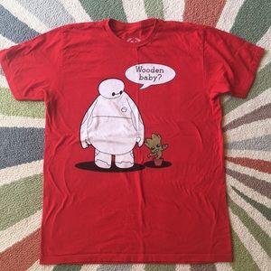 Baymax Groot t-Shirt ✌️